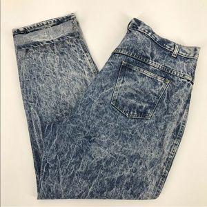 Venezia 22 Jeans Vintage 90's Mom High Rise Acid